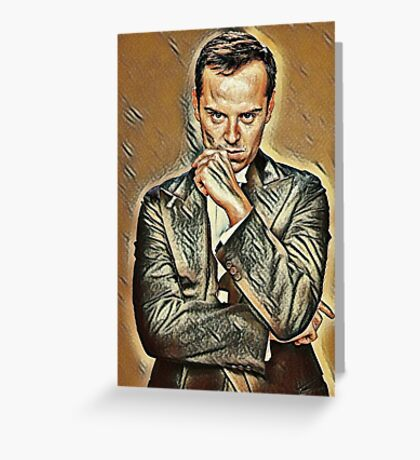 the Amazing Andrew Scott Greeting Card