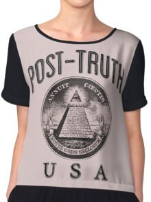 Post-Truth USA BL Chiffon Top