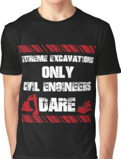 Funny Sayings Civil Engineers Graphic T-Shirt