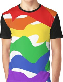 Pride Abstract Graphic T-Shirt