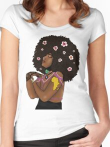 Natural Love Women's Fitted Scoop T-Shirt
