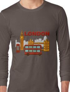 Londres, London, Inglaterra Long Sleeve T-Shirt