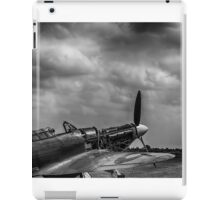 Covers Off 2 Black and White iPad Case/Skin