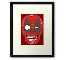 Day of the Deadpool Framed Print