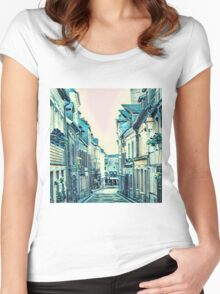 Parisian Alley Women's Fitted Scoop T-Shirt