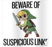 Beware of Suspicious Links (Zelda) Poster