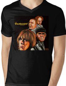 The Stooges  Mens V-Neck T-Shirt