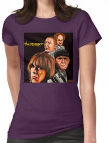 The Stooges  Womens Fitted T-Shirt