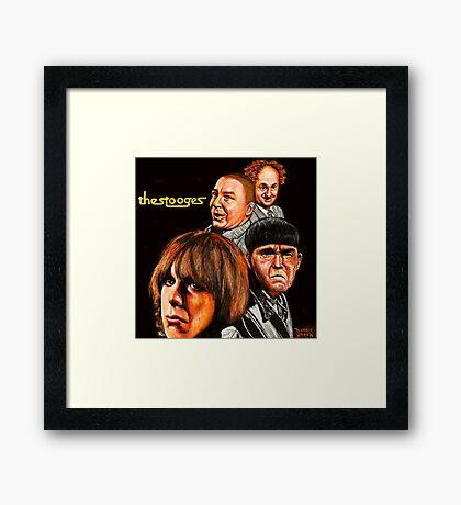 The Stooges  Framed Print