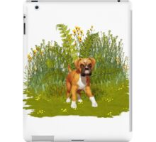 Boxer Puppy, tote, pillow iPad Case/Skin
