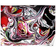 Abstract gonzo Poster