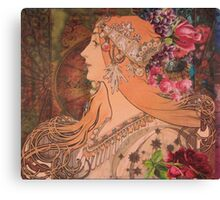 Embellished  Canvas Print