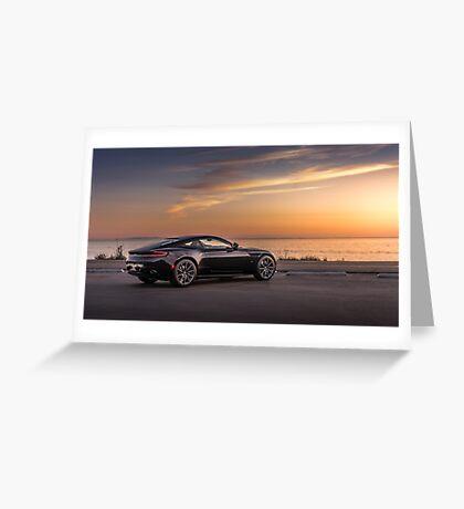 DB11 at Sunset Greeting Card