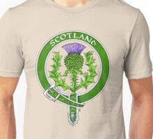 Belted Thistle Badge of Scotland Unisex T-Shirt
