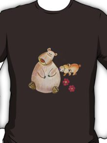 Cute bears mom and cub T-Shirt