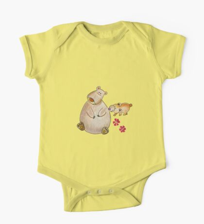 Cute bears mom and cub One Piece - Short Sleeve