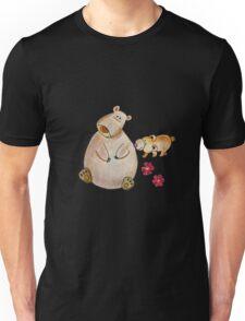Cute bears mom and cub Unisex T-Shirt