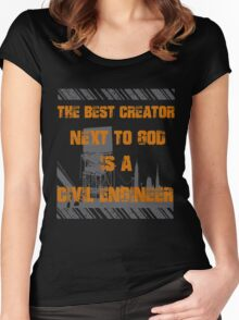 Civil Engineers Women's Fitted Scoop T-Shirt