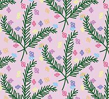 Pine flowers by caseyvug