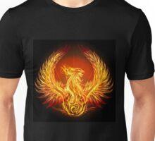 burning phoenix   Unisex T-Shirt