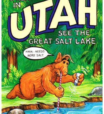 Utah Great Salt Lake United States of ALF Travel Decal Sticker