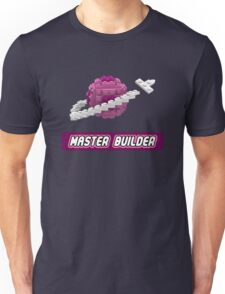 Lavender and Pink Classic Space LOGO Unisex T-Shirt