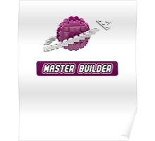 Lavender and Pink Classic Space LOGO Poster