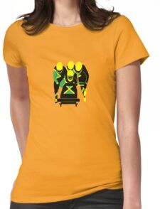 Jamaican Bobsled Team Womens Fitted T-Shirt