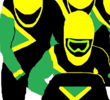 Jamaican Bobsled Team Sticker
