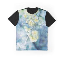 Beautiful white flower design Graphic T-Shirt