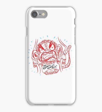 The Aquatic Monkey Boy iPhone Case/Skin
