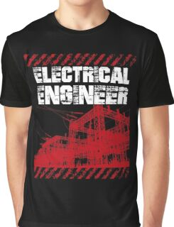 Grunge Style Electrical Engineer Graphic T-Shirt