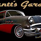 53 Buick Special Gantt's Garage Tee by ChasSinklier
