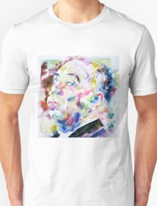 ALFRED HITCHCOCK watercolor portrait.1 Unisex T-Shirt