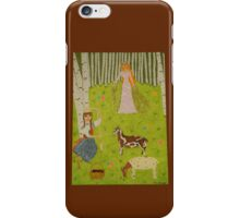 The Wood Maiden iPhone Case/Skin