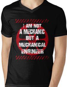 Funny Sayings Mechanical Engineer Mens V-Neck T-Shirt