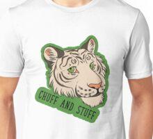 Tiger Pride - CHUFF AND STUFF (White Tiger) Unisex T-Shirt