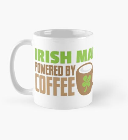IRISH MAN powered by coffee Mug