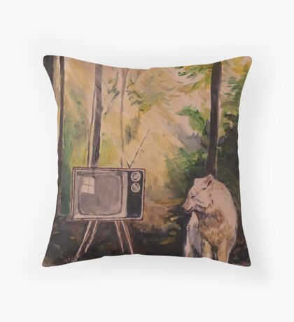 Seen the light Throw Pillow