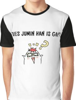 DOES JUMIN HAN IS GAY ? Mysme Collection Graphic T-Shirt