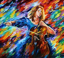 Music - Leonid Afremov by Leonid Afremov