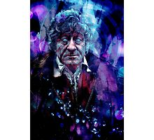The Third Doctor Photographic Print