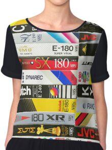 VHS tapes Chiffon Top