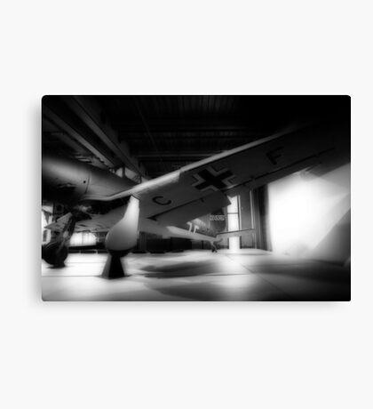 German Aircraft - Censored Canvas Print