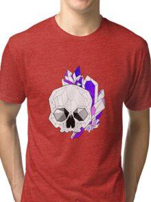 Crystal Skull. Tri-blend T-Shirt