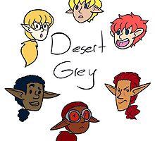 Desert Grey Heads by SurrealistDream