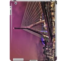 Zakim bridge, Boston MA iPad Case/Skin