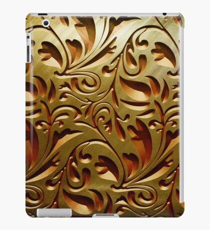 Gold relief iPad Case/Skin