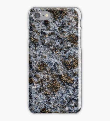 rock with gold pigments iPhone Case/Skin