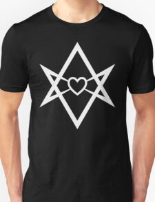 Thelema Heart (Inverse) Unisex T-Shirt
